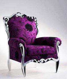 Fancy Purple Chair <3
