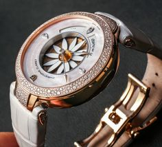 Christophe Claret Margot Watch For Ladies Hands On   hands on