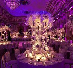 ultra violet lighting wedding