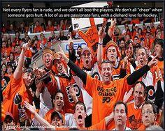 Passionate fans