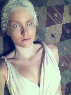 Ice Queen #fancydress #halloween #makeup