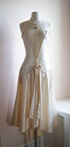 1920-е годы свадебное платье от куклы Designer