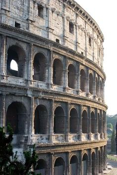 This is the Colosseum found in Rome. It is one of the most well-known pieces of architecture from ancient Rome. Roman Architecture, Ancient Architecture, Italy Architecture, Places To Travel, Places To See, Travel Destinations, Ancient Rome, Roman Empire, Italy Travel
