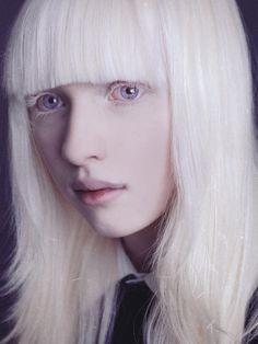 Nastya Kumarova -- Albino - Beauty - Portrait - Photography