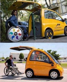 Katharine Grant-- Innovative invention that would allow wheelchair-bound people to easily drive their cars.