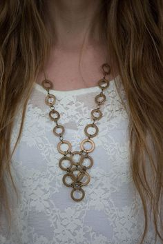 Always Rooney: Hardware Necklace | DIY
