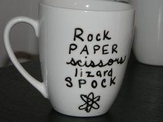 Funny The Big Bang Theory quote mug rock by tenthavenuemugworks,