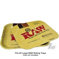 The RAW Magnetic Tray Cover is the perfect addition to your large metal RAW Rolling Tray; brought to you by RAW Rolling Papers of course. Roll up your RAW and leave the papers and product out between rounds.   http://1percent.com/raw-magnetic-tray-cover.html