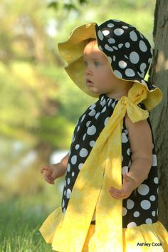 Sunny Lemon Drenched Yellow Dragonflies Boutique  Dress Perrrfect for that SpeCial  DresS. $44.00, via Etsy.