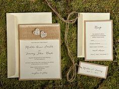 Rustic Wedding Invitation  From Decorisus