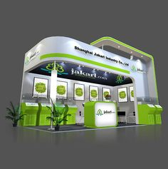 exhibition event booth design in Shanghai,China