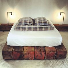 Drift San Jose Hotel Baja Mexico | Remodelista || What a great idea for a platform bed!!
