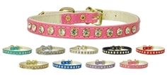 #10 Clear Crystal Collar in Many Colors