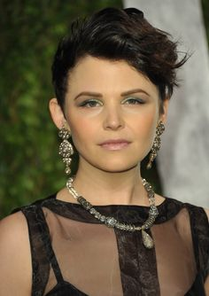 In 2012, the former Big Love star rocked big waves and dramatic eye makeup to balance her mega bling at the Vanity Fair Oscar Party.  - GoodHousekeeping.com