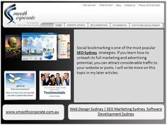 Social bookmarking is one of the most popular SEO Sydney strategies. If you learn how to unleash its full marketing and advertising potential, you can attract considerable traffic to your website or posts. I will write more on this topic in my later  Tips on how to Buy silp resistant Shoes more at LMOMYTB.. http://www.seosucces.com