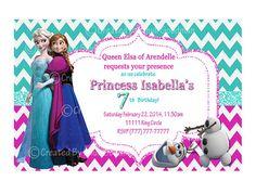 Frozen+Birthday+Invitations+Printable