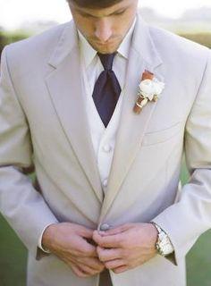 Traje de novio para la boda
