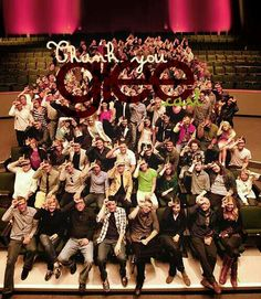 Thank u glee, for making me realise that however different we all are we all have one thing in common! So thank u!