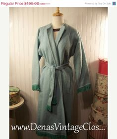 50 Off BLACK FRIDAY SALE Vintage 60s  Blue by DenasVintageCloset, $99.50