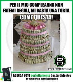 """Cerca """"Perfettamente"""" su YouTube e balla! #perfettamentebastardidentro #bastardidentro #torta #regalo www.bastardidentro.it"""