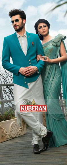 Stunning blue designer men suit online with great colourful look that suitable for ethnic wedding and special wear at best price value, browse for wide range of more designer men suits collections at Kuberansilks. Indian Men Fashion, Indian Bridal Fashion, Mens Fashion Blog, Bridal Fashion Week, Mens Fashion Suits, Mens Suits, Man Fashion, Wedding Dress Men, Wedding Suits