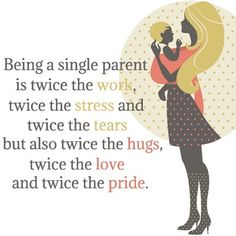 To all single parents out there. Single parenting is no easy job, hats off to you! Single Mother Quotes, Single Parent Quotes, Single Dads, Single Parenting, Funny Single, Quote Single, New Quotes, Funny Quotes, Inspirational Quotes
