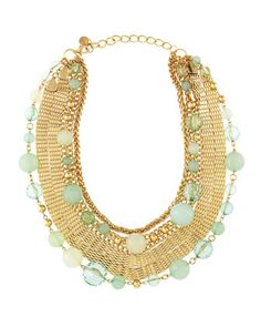 Cool Multi-Chain Necklace by R.J. Graziano at Last Call by Neiman Marcus.