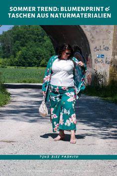 Blumenprints sind aus der Mode nicht mehr wegzudenken, denn dieser Trend kehrt jedes Jahr reloaded in unseren Kleiderschrank zurück. Vor allem in Verbindung mit Accessoires wie Taschen aus Naturmaterialien wie Bast, Stroh & Bambus ist der Sommer Look perfekt. Das ganze Outfit findet ihr jetzt auf dem Blog. Outfit Trends, Different Styles, Plus Size Fashion, Messenger Bag, Lifestyle, Blog, Fashion Trends, Outfits, Bags