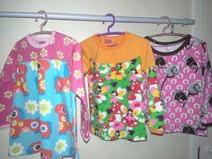 3v. tytölle tunika ja pari puseroa