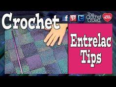 Entrelac Crochet Tips for Afghan Creation - The Crochet Crowd