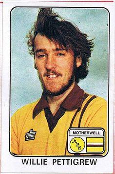 WILLIE PETTIGREW Motherwell (1979) Football Stickers, Football Cards, Baseball Cards, Motherwell Fc, Paris Tour, Sports Stars, Scotland, The Past, Album