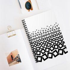 Phish Nine Cubes White Spiral Notebook - Ruled Line - Spiral Notebook