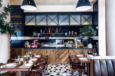 Kitchen in L'Amico, NYC