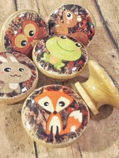 ON SALE You Choose Your Animal Knob Woodland by WoodlandCrew