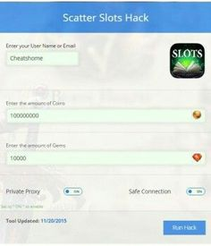 scatter slots cheats codes
