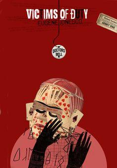 István Horkay Eugene Ionesco, Devil, Graphic Design, Digital, Cover, Movie Posters, Poster, Film Poster, Billboard