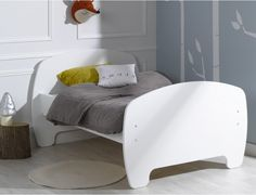 Toddler & Kids Bed Frame (convertible) - Youpi White - 2000000002439 For Sale, Buy from Single Beds collection at MyDeal for best discounts. Toddler Bed Frame, Kids Bed Frames, Kids Bedroom Furniture, Cute Toddlers, Kid Beds, Bedding Collections, Convertible, Comfy, Single Beds