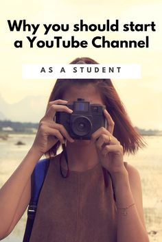 5 Reasons why you should start a YouTube Channel as a student. Starting a YouTube Channel Tips and Advice. How to start a YouTube channel.