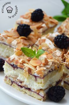 ciasto Pani Walewska Pychotka Polish Desserts, Polish Recipes, Thyme Recipes, Sweet Recipes, Gourmet Cooking, Cooking Recipes, Sweet Bar, Gateaux Cake, Mint Chocolate Chips
