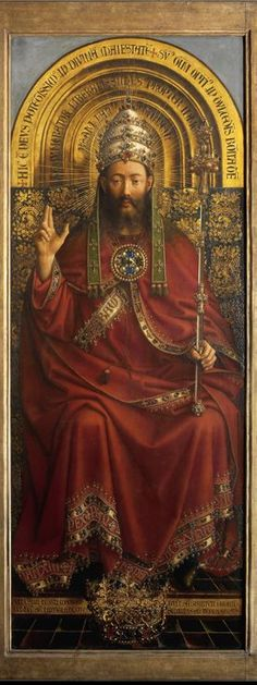 INCREDIBLE hi-res images of the Ghent Altarpiece by Jan van Eyck    HIGHLY RECOMMEND LOOKING AT THIS - if you do or don't respect art and thee craft that goes into you, you will after you check this out. loads a bit slow but it's worth it. Ghent Altar piece was completed in 1432...
