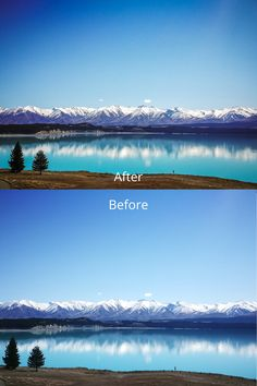 The Travel Cool preset helped to bring out more details on the snowy mountains and the reflections. We took this photo at beautiful Lake Pukaki