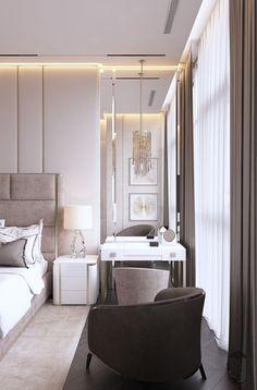 Interior Design,Architecture,Visual Effects Modern Luxury Bedroom, Master Bedroom Interior, Luxury Bedroom Design, Bedroom Closet Design, Bedroom Furniture Design, Home Room Design, Luxurious Bedrooms, Bed Design, Home Interior Design