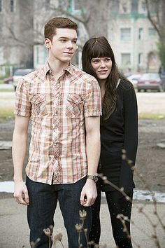 Mandy Milkovich and Ian Gallagher. <----They are perfect friends.