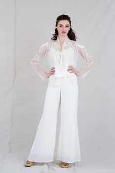 for the bride who wants to wear pants