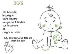 Start using thise easy ways to teach your baby some simple sign language skills and finally understand what goo-goo gah-gah really means. Sign Language Phrases, Baby Sign Language, French Language Learning, Funny Socks, Signs, Kids House, Got Him, More Fun, Communication