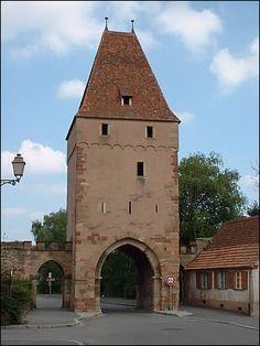 Porte de la ville de Rosheim