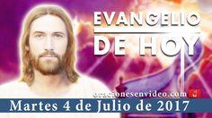 Evangelio de Hoy Martes 4 de Julio 2017 «¡Cobardes! ¡Qué poca fe!» - YouTube