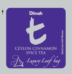 Dilmah, T-series, Ceylon Cinnamon Spice Tea, Foodservice Pack, Biodegradable Luxury Leaf Sachets in Foil Envelopes, 100 Pyramid Sachets -- Visit the image link more details.