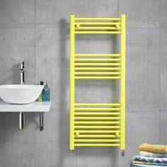 Kartell K-Rail Coloured Towel Rails | 7 Funky Colour Options Bathroom Towel Radiators, Best Radiators, Radiator Valves, Designer Radiator, Ral Colours, Towel Rail, Your Space, Shelves, Shelving