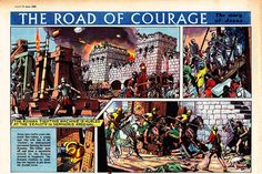 Frank Hampson (1960-1961) The Road of Courage: The Story of Jesus of Nazareth